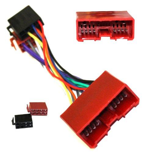 AERZETIX: Adaptador cable enchufe ISO B9 para autoradio C1944