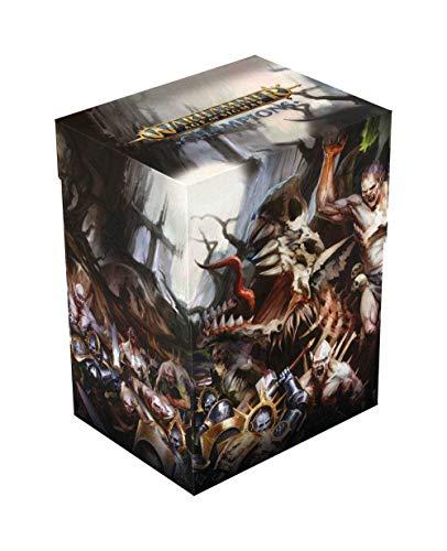 Ultimate Guard Warhammer Age of Sigmar: Champions Basic Deck Case 80+ Standard Size Order vs. D