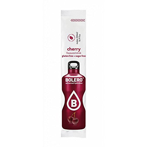 Bolero Bolero Stick - 12 unid. x 3 gr (500 ml) Cereza (Cherry)