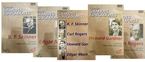 Coleção Grandes Educadores 4 DVDs + 1 Livro