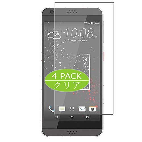 VacFun 4 Piezas Claro Protector de Pantalla, compatible con HTC Desire 530...
