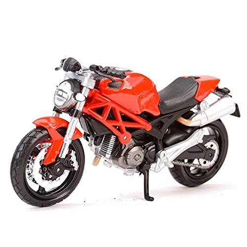 Modelo de juguete de motocicleta 1:18 para D-uc-ati Diavel para Carbon 1199Panigale 1098S 748 848 HyperMotardo Monster Supersport S Diecast Aleoy Motocicleta Modelo de juguete Modelo de motocicleta