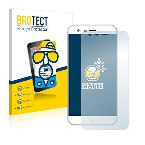 BROTECT 2X Entspiegelungs-Schutzfolie kompatibel mit Ulefone Paris X Bildschirmschutz-Folie Matt, Anti-Reflex, Anti-Fingerprint