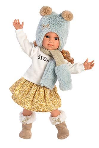 Llorens 54207 Puppe Sophia, 42 cm, beige