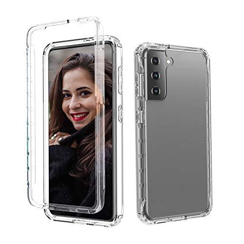 Funda de silicona para Samsung Galaxy S21 Plus, color degradado, ultrafina, 360°, protección contra golpes, para Samsung Galaxy S21 Plus 5G, antiamarillo, protección contra caídas