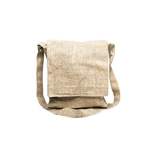 Core Hemp 100% Hemp Crossbody Messenger Bag - Unisex