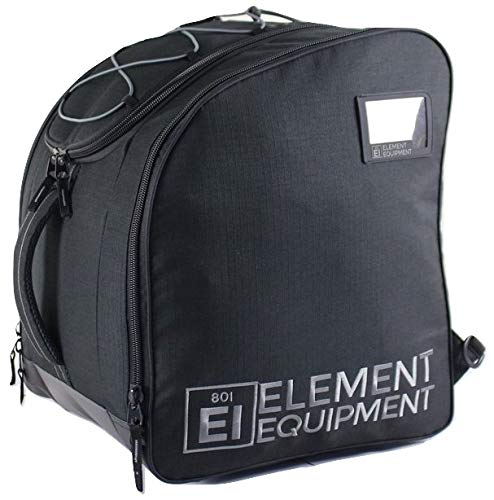 Element Equipment Boot Bag Deluxe Snowboard Ski Rucksack, Schwarzer Ripstop
