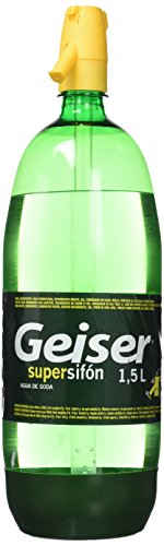 Geiser Bebida Refrescante Supersifón Botella, 1.5L
