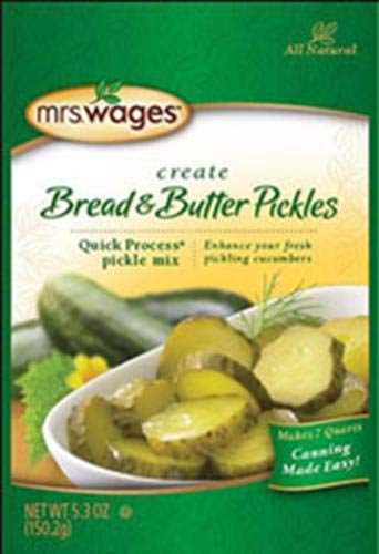 Mrs. Wages® Quick Process Bread & Butter Pickle Mix 5.3 oz