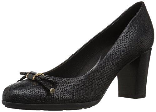 Geox Zapatos de Tacón para Mujer, Black