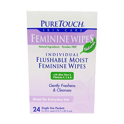 Puretouch Skin Care Feminine Flushable...