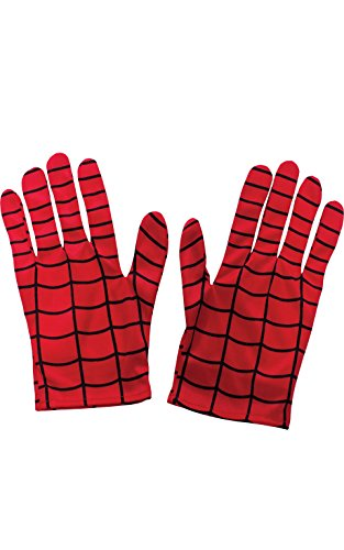 Rubie's mens Marvel Universe Adult Spiderman Gloves Party Supplies, As Shown, One Size US