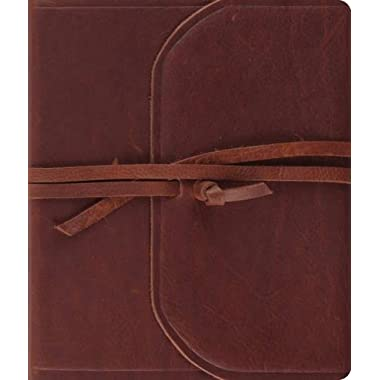ESV Journaling Bible (Brown, Flap with Strap)