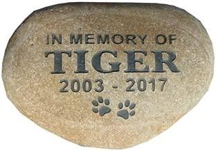 Pet memorial stone headstone grave marker 7