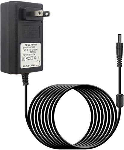 10FT 9.5V AC/DC Power Adapter Compatible with for Casio Keyboard Power Supply AD-E95100L ADE95100LU ADE95100B AD-E95100L Power Adapter CTK-2080 CTK-2550 CTK-3200 CTK-3500 LK-265 LK-280 SA-46