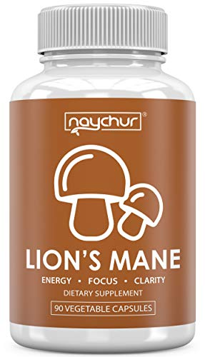 Lions Mane Mushroom Capsules | Immune Support System Booster for Adults | Nootropic Brain Booster Supplement for Focus Memory Pills | Lion's Mane Reishi Maitake Shiitake Chaga Powder Complex Extract