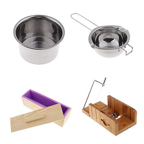 IPOTCH Kits de 4pcs Herramientas de Fabricación de Pan Jabón Apto ...