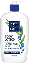 Kiss My Face Sensitive Skin Natural Moisturizer with Olive Oil & Aloe Vera