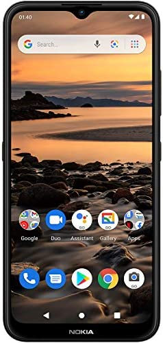 Nokia 1.4 | Bonus 90-Day Voice Text Data Cellular Service Plan | Android 10 (Go Edition) | Unlocked Smartphone | 2-Day Battery | Dual SIM | US Version| 2/32GB | 6.51-Inch Screen | Charcoal