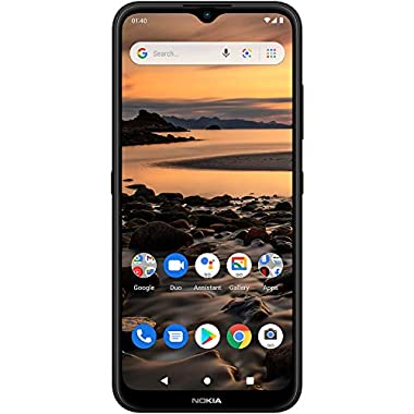 Nokia 1.4 | Android 10 (Go Edition) | Unlocked Smartphone | 2-Day Battery | Dual SIM | US Version| 2/32GB | 6.51-Inch…