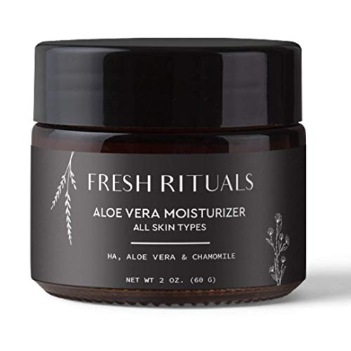 Face Moisturizer with Natural & Organic Ingredients | Contains aloe Vera, Hyaluronic Acid and Niacinamide | 2 ounce | All Skin Types