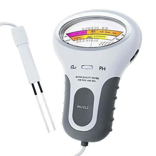 Icepeach Draagbare Digitale Monitor Ph Watertester Meter Analyse Chloor Zwembad Test Kit