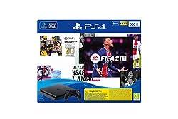 Gioca al nuovo FIFA 21 con il bundle esclusivo PS4! Il bundle contiene: PS4 500GB + DS4, copia fisica di FIFA 21, Codice Promo PS Plus 14 gg, Codice Promo FUT 21