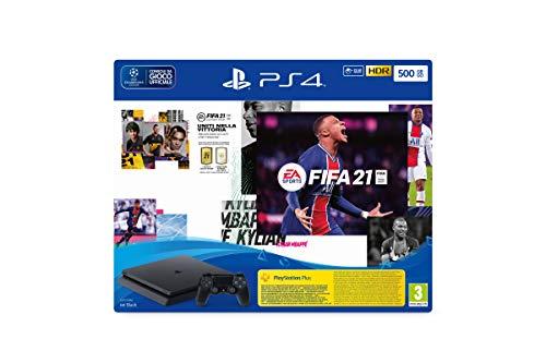 Sony Ps4 Slim 500 Go + FIFA 21 + code FUT 21