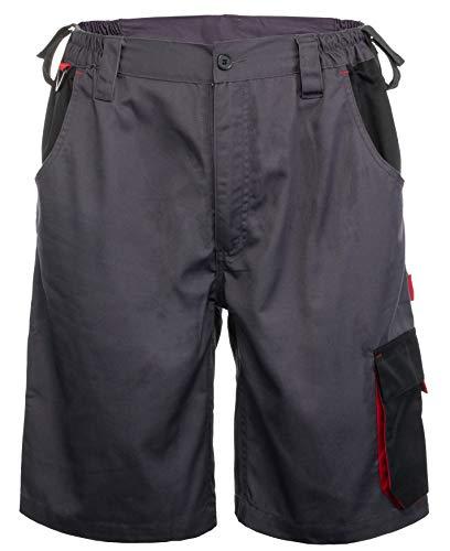 Brandsseller Arbeitshose Arbeitskleidung Arbeits-Shorts Kurz Anthrazit/Schwarz XL/56