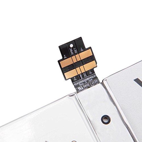 vhbw Akku kompatibel mit Microsoft Surface Pro 4, 4, 1724 Tablet Pad (5050mAh, 7,5V, Li-Polymer)