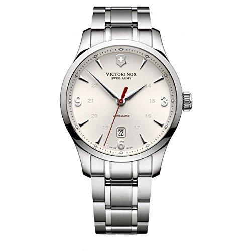Victorinox Swiss Army Herren Analog Automatik Uhr mit Edelstahl Armband 241667