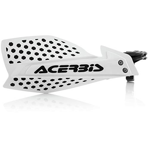 Acerbis Handschutz X-Ultimate in weiss-schwarz inkl. Anbaukit