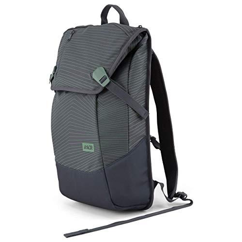 AEVOR Daypack - erweiterbarer Rucksack, ergonomisch, Laptopfach, wasserabweisend, Fineline Ivy
