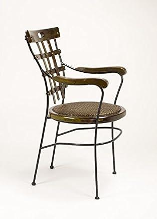 Amazon.es: sillas forja - 2 estrellas y más: Hogar y cocina