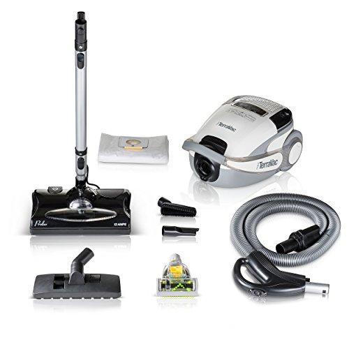 Prolux TerraVac Quiet 5 Speed Canister Vacuum Cleaner