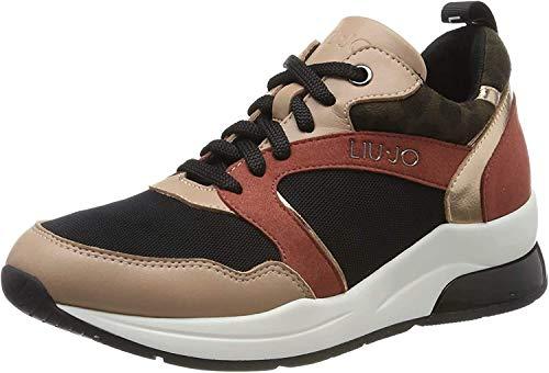 Liu Jo Shoes Karlie 23 Sneaker, Scarpe da Ginnastica Basse Donna, Multicolore (Nude 51315), 39 EU