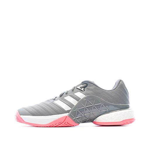 adidas Barricade 2018 Boost, Chaussures de Tennis Homme, Blanc (Blanco 000), 44 EU