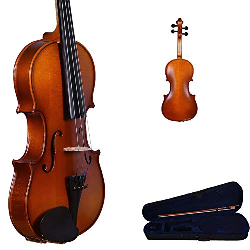 Kadence,KAD-VIV-V10,Imported Vivaldi 4/4 Violin with bow rosin and hard case