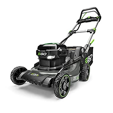 EGO Power+ LM2020SP Inch 56-Volt Lithium-Ion Brushless Steel Deck Walk Behind Self-Propelled Lawn Mower Battery and Charger Not Included, 20 /56 V, Green
