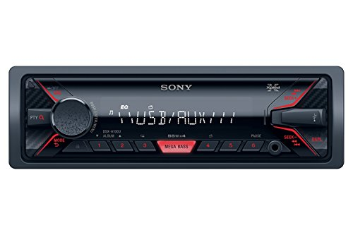 Sony DSX-A100U Car Stereo (Black)