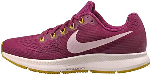 Nike Womens Air Zoom Pegasus 34 Running Trainers 880560 Sneakers Shoes (UK 5 US 7.5 EU 38.5, True Berry Plum Chalk 607)