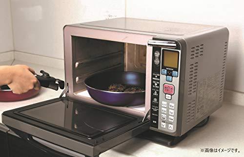 パール金属 スタックプラス ブルーダイヤモンドコートIH対応クックウェア3点セットB レッド HB-5627