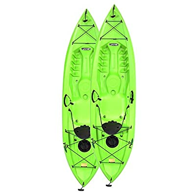 Lifetime Products Tioga 120 Kayak - 2 Pack