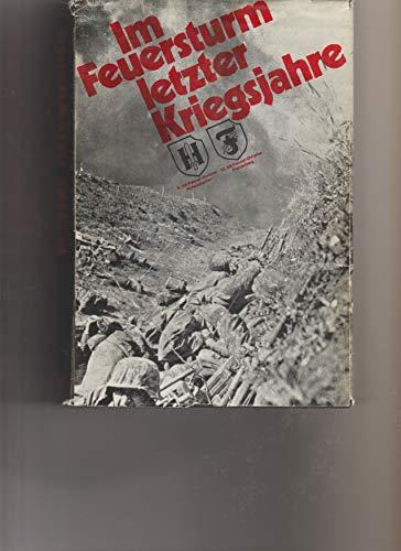 Im Feuersturm letzter Kriegsjahre. II. SS-Panzerkorps mit 9. SS-Panzerdivision
