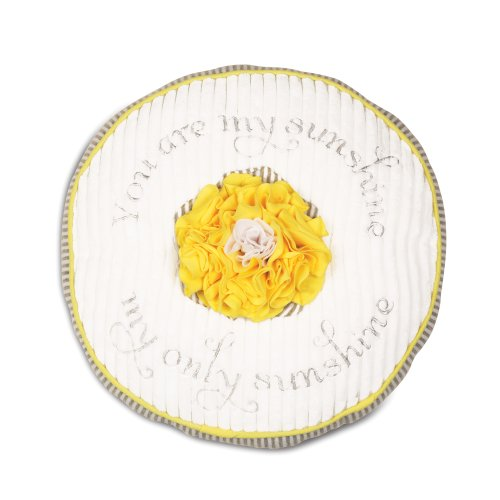 """Pavilion Gift Company Baby Pillow, You are My Sunshine, 12"""""""