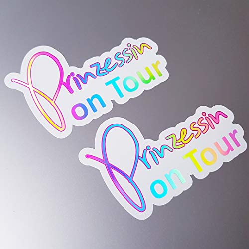 foliecentrum 2X prinses on Tour White hologram Oilslick Rainbow Flip Flop Sticker Metallic Effect Shocker Auto JDM Tuning OEM Dub Decal Sticker Illest Dapper Oldschool