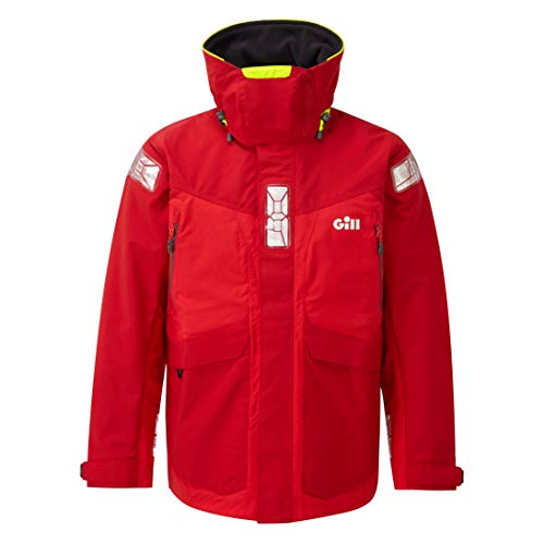 Gill Offshore Jacke, Farbe: Rot, Größe: 2XL (OS24JRXXL)