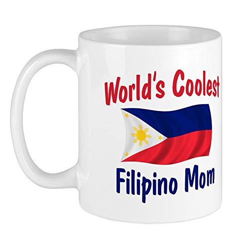 CafePress Coolest Filipino Mom Mug Unique Coffee Mug, Coffee Cup
