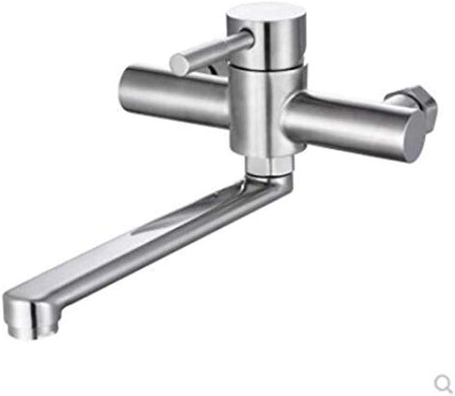 Bathroom Sink Basin Lever Mixer Tap Hot and Cold Water Kitchen Sink Faucet