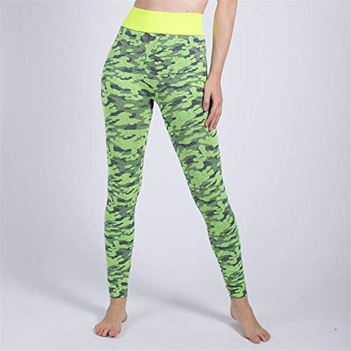 Koupany Sportbroek Dames Panty Workout Legging Hip Push Stretch Yoga Broek Ademend Fitness Luipaard Sport Legging